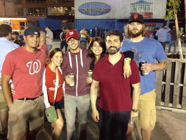 Matt, Laura, Cameron, Me, 2 random dudes.