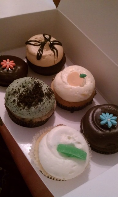 Georgetown Cupcakes after my birthday dinner <3