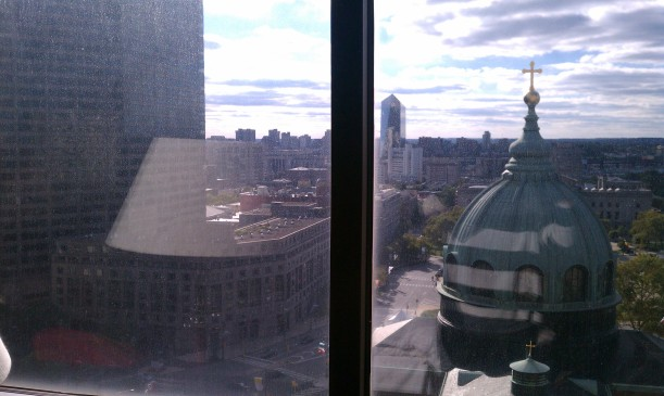 Hotel View was beautiful!
