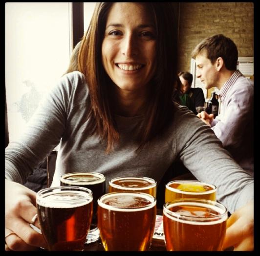 beer tasting @ Revolution Chicago