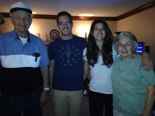 My grandparents Stan & Helen